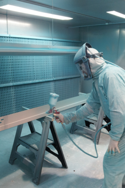 wet paint spraying